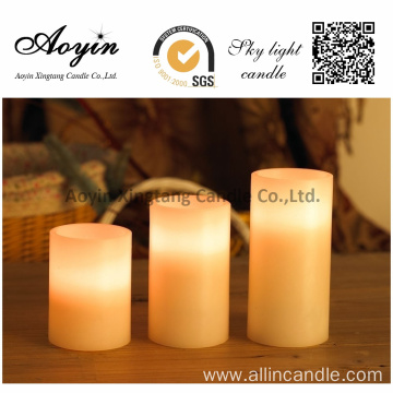 Wave Type LED Candles Rechargable LED Candles