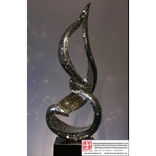 Carving Stainless Steel Art