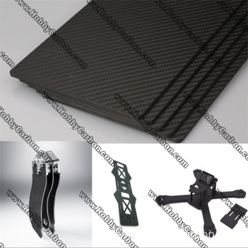Katoa 3K Twill Matte Carbon Fiber Sheet 5.0mm