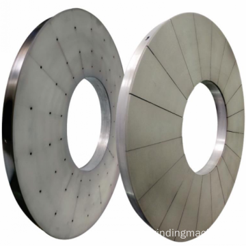 Dule side CBN surface fine grinding wheel