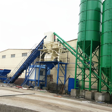 HZS90 calibration cement electrical concrete batching plant