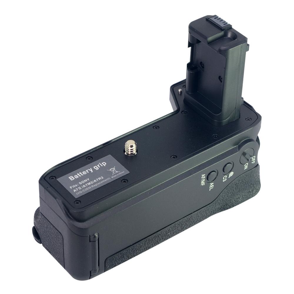 Mcoplus BG-A7II Vertical Battery Grip Holder for Sony A7II A7S2 A7M2 A7R2 A7R II as VG-C2EM Camera