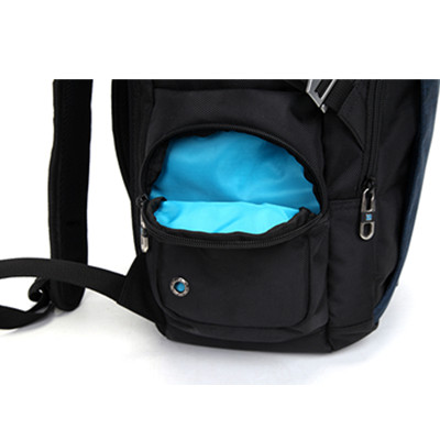 Back of Backpack with Vented Hole