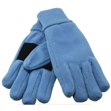 Polar fleece touch screen winter gloves