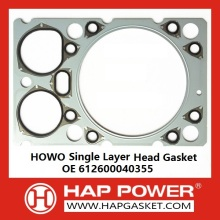 HOWO Single layer Head Gasket OE 612600040355