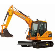 7 Ton crawler excavator medium excavator X80-E for sale