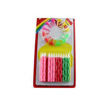 New Style Children's Birthday Party Gift Sprial Candle