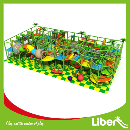 Open set up build indoor play