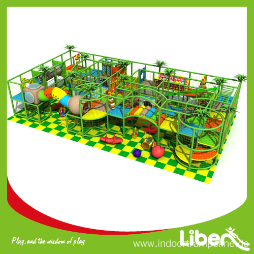 Interior amusement structure equipment
