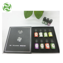 Private label logo essential oil gift set