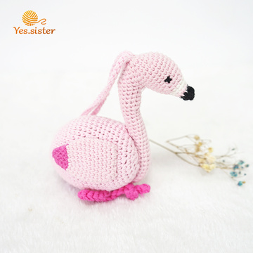 100% Cotton Crochet Handmade Animals Baby Toys