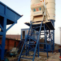 Stationary 75m3/h small concrete batching plant machine