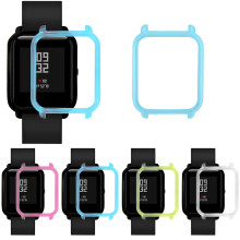 Watch Protective Watch Case Cover Shell Frame for Xiaomi Huami Amazfit Bip Youth Watch Fashion Smart Watch Band Accessories