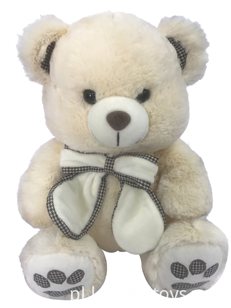 Soft stuffed Bear With Bow