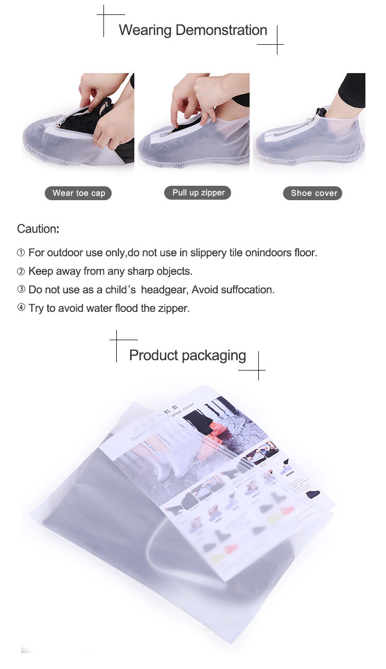 Waterproof Shoe Cover Reusable