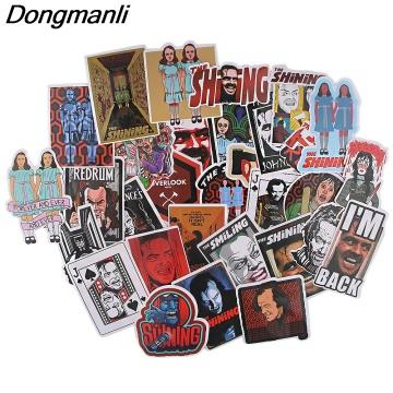 BG159 Dongmanli 32pcs/set Classic horror movie characters sticker for motorcycle Laptop car Fridge suitcase Halloween sticker