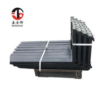 forklift handing material part of all size forks