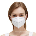 Folding Half Face Mask Disposable Nonwoven KN95
