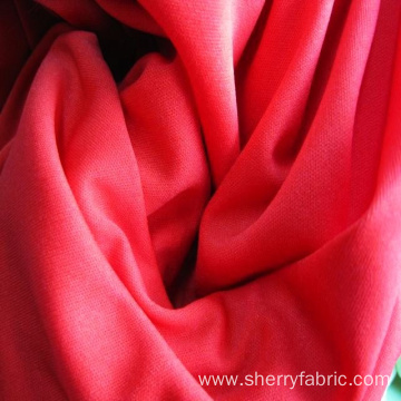 100% polyester weft tejido de ropa knit fabric