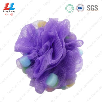 Luxury best body mesh bath sponge luffa scrub