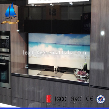 Back Painted Tempered Kitchen Glass Splashback Wholesale