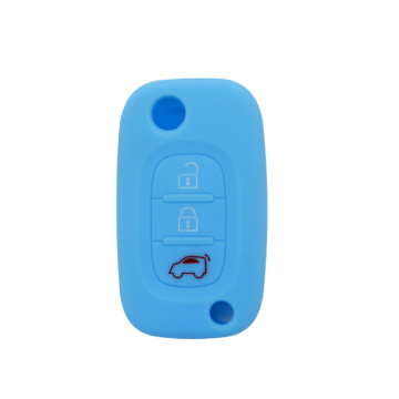 Silicon fold car key case for Benz