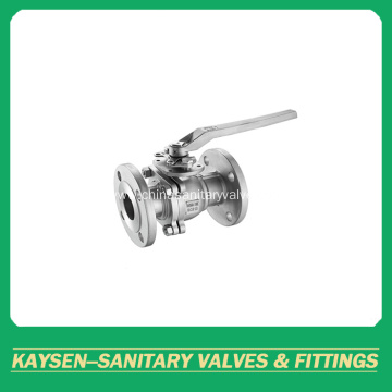 DIN Sanitary flanged ball valves manual