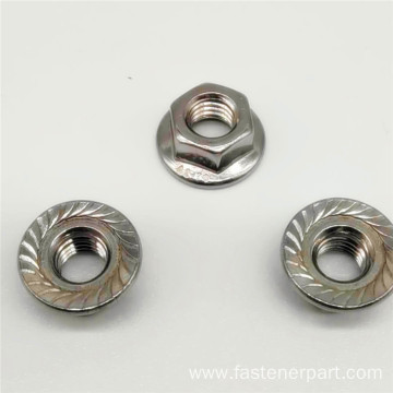Special Self Lock Stainless Steel Flange Hexagon Nut