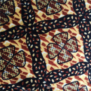 Weft Knit Printed Polyester African Print Fabric Ankara