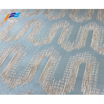 Polyester Cotton Textile Window Embroidered Curtain Fabric
