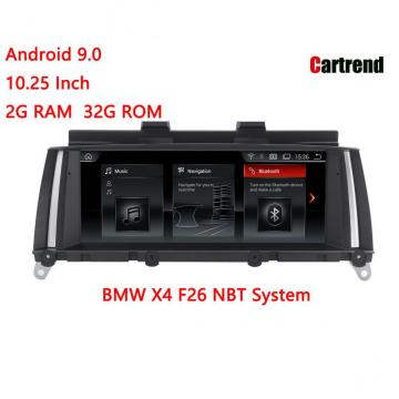 BMW X4 F26 Dashboard Multimedia Player