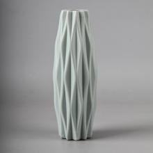 Plastic Flower Vase Flower Pots For Plants Wedding Decor Nordic Cute Like Ceramic Decoration Home Flower Arrangement Container