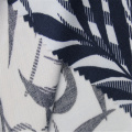 Leaf Print With Rayon Twill Fabric