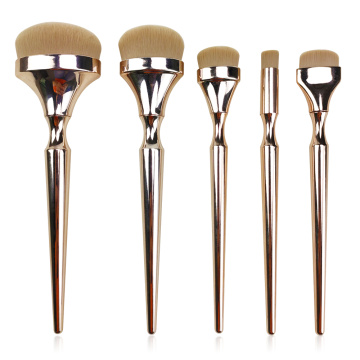 5pc Oval Makeup Brush Set