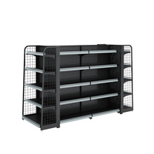 Steel Supermarket Gondola Shelving