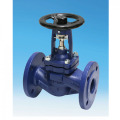 DIN Cast Steel Bellows Globe Valve