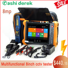 X9MOVTADHS Cctv Tester 4k Ip Camera Tester RJ45 TDR Cable Test EX-SDI Ahd Cvi Tvi All In One Security Tester Monitor HDMI In/out