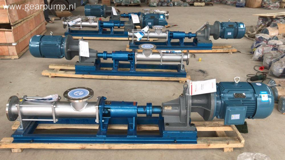 Industry slurry fluid electric high quality single screw progressive cavity pump manufacturers