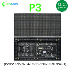 P3 Pixel led Panels Digital led Module Indoor led Display Screen RGB Matrix 192X96mm smd brighter