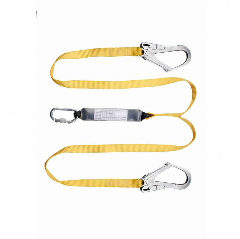 Custom Safety Polyester Webbing Strap With Carabiner