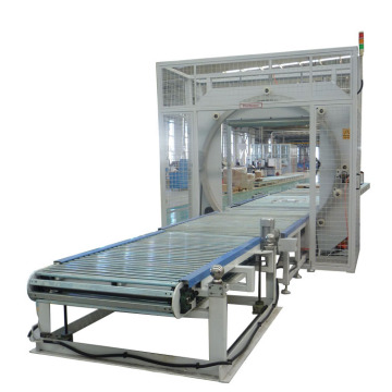Stretch hood packaging machine