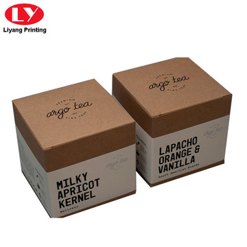 Kraft Paper Tea Packaging Box with Sleeve