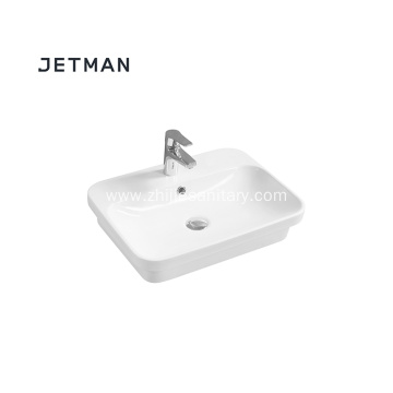 color ceramic bathroom  basin