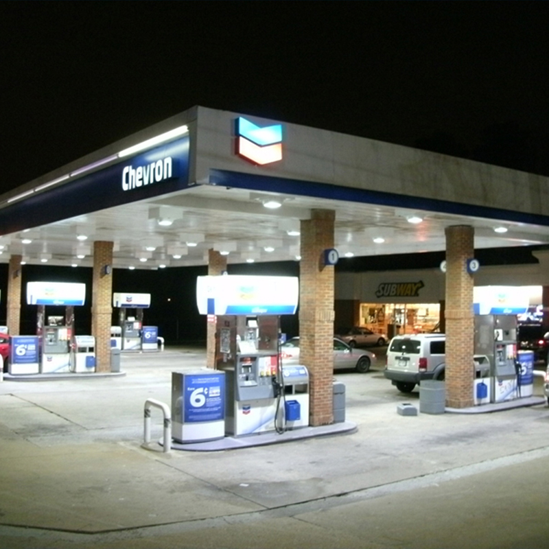 Gas Station Canopy Lighting Fixtures
