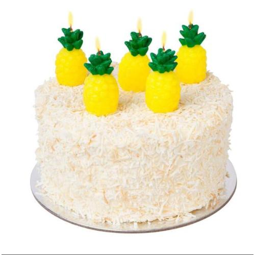 Fruit Themed Cake Candles in Pineapple