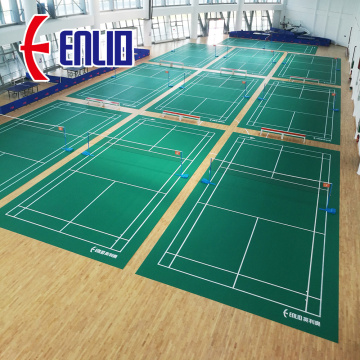 BWF certified Vinyl Mat Flooring for Badminton