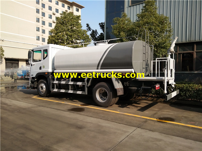 15 CBM Road Water Tanker Trucks