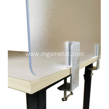 High Quality Metal Clamp-on Desk Top Divider