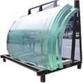 Curved Tempered Laminated Insulated Building Glass Panels