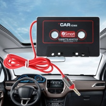 New Hot 1 Pc 3.5mm Auto Car AUX Audio Tape Cassette Adapter Converter For Car CD Player MP3 High Quality
